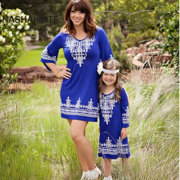 Mommy and Me Maxi Dresses 2