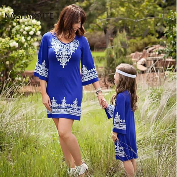 Mommy and Me Maxi Dresses 3