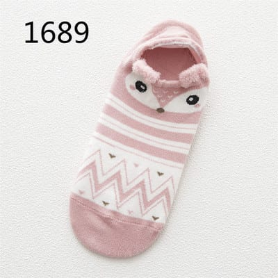 Cute Animal Cotton Socks 2