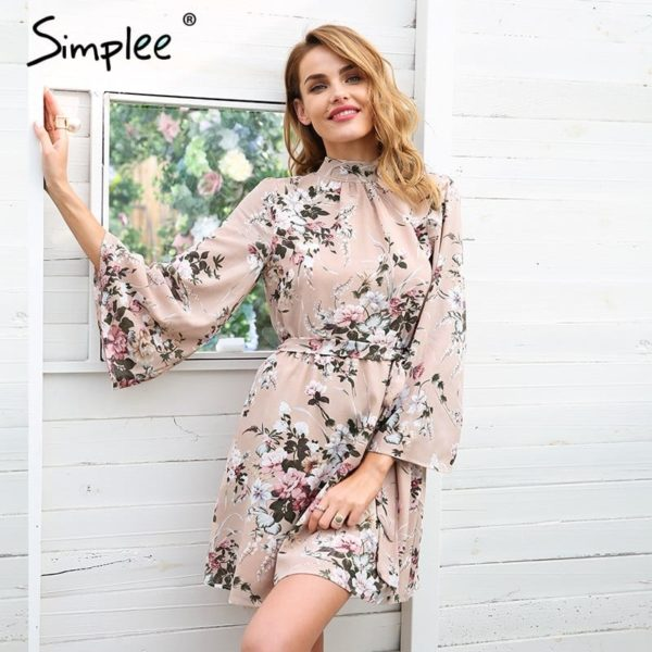 Simplee Backless Dress 3