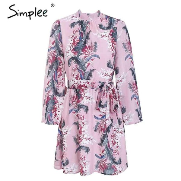 Simplee Backless Dress 5