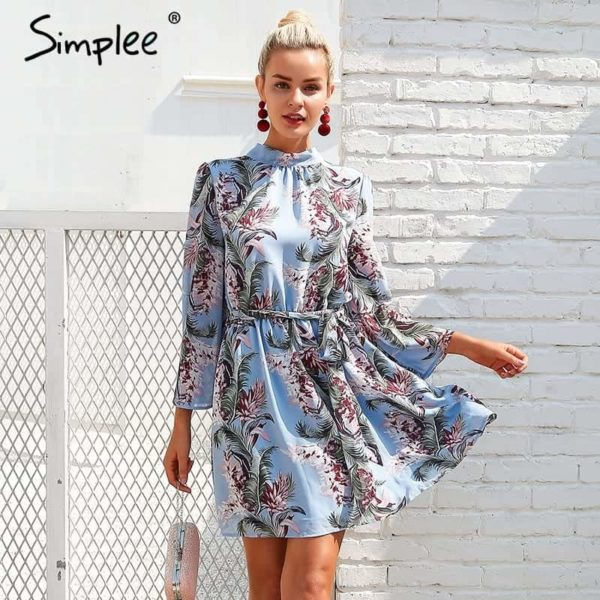 Simplee Backless Dress 1