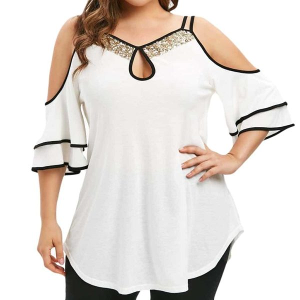 Plus Size Women Tops And Blouses 1