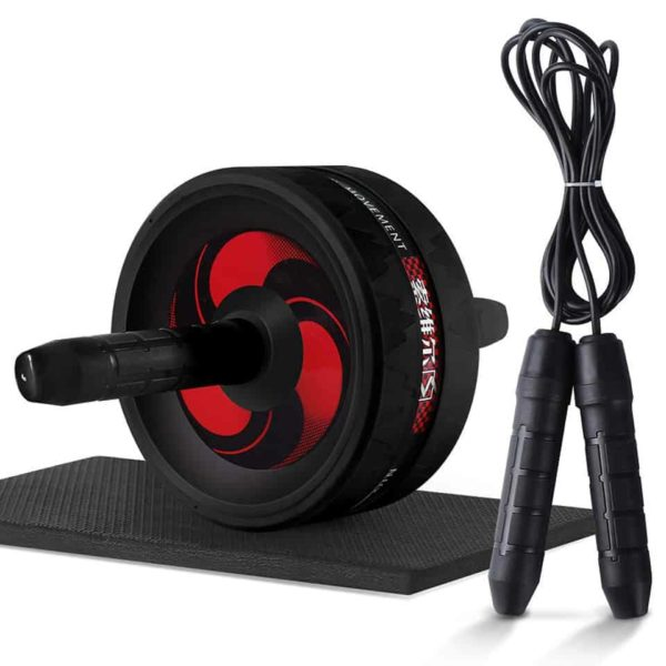 2 in 1 Ab Roller & Jump Rope 1