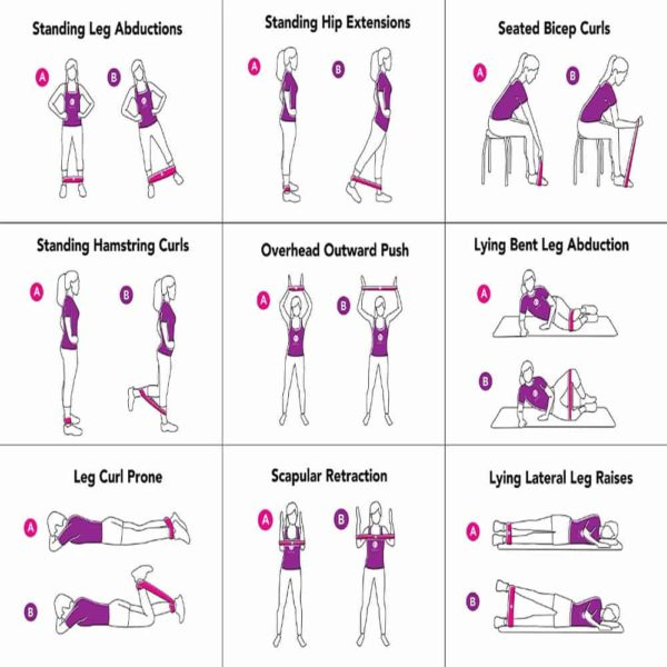 Resistance Band Workouts Fitness 2