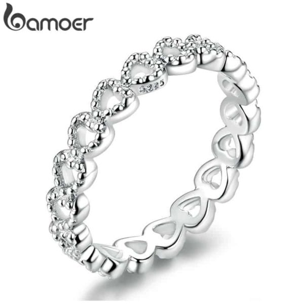 Bamoer Braided Pave Leaves 3