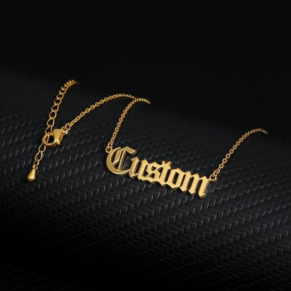 Personalized Letter Name Custom Necklaces 3
