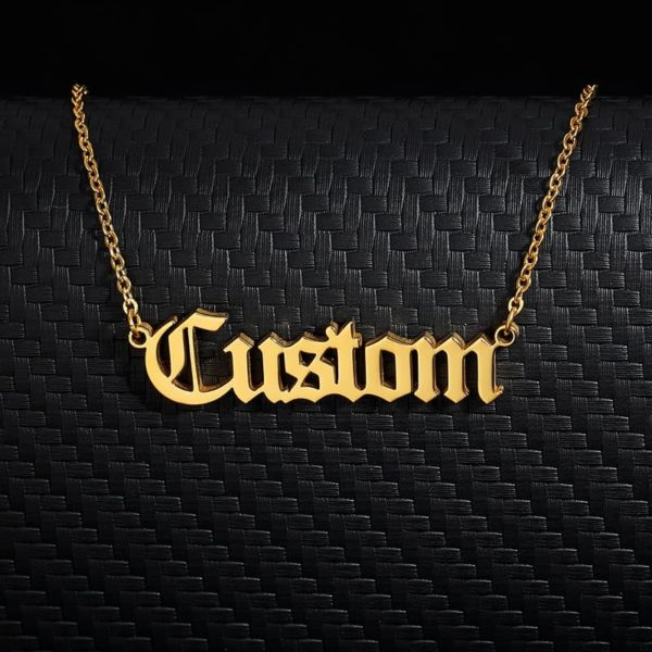 Personalized Letter Name Custom Necklaces 1