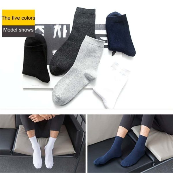 Brand Pairs Cotton Socks For Men 6