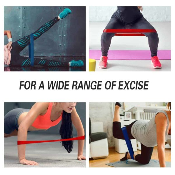 Resistance Loop Elastic Band for Fitness 6