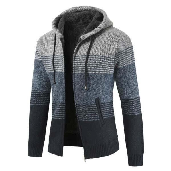 Thick Warm Hooded Cardigan Sweater 5